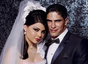 Arab pop star Haifa Wehbe gets married!