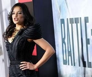 Actress Michelle Rodriguez chose Basil Soda for the Première of 'Battle: Los Angeles'