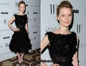 "Mia Wasikowska In Elie Saab Couture – ""Jane Eyre"" New York Premiere"