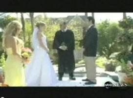Oops! Best Man Sparks Wet Wedding: The Bride and the Pastor fall into a pool