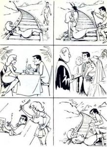 Man Woman Love Cycle