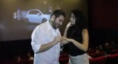 The 'Super Lebanese Wedding Proposal'